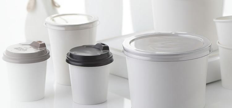 Tampas Plásticas para Potes e Copos de Papel
